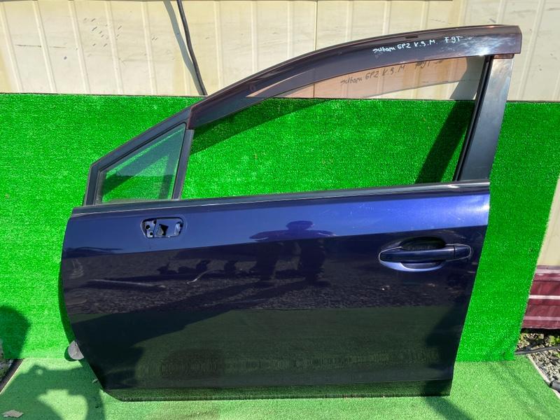 Дверь Subaru Impreza GP7 FB16B передняя левая (б/у)