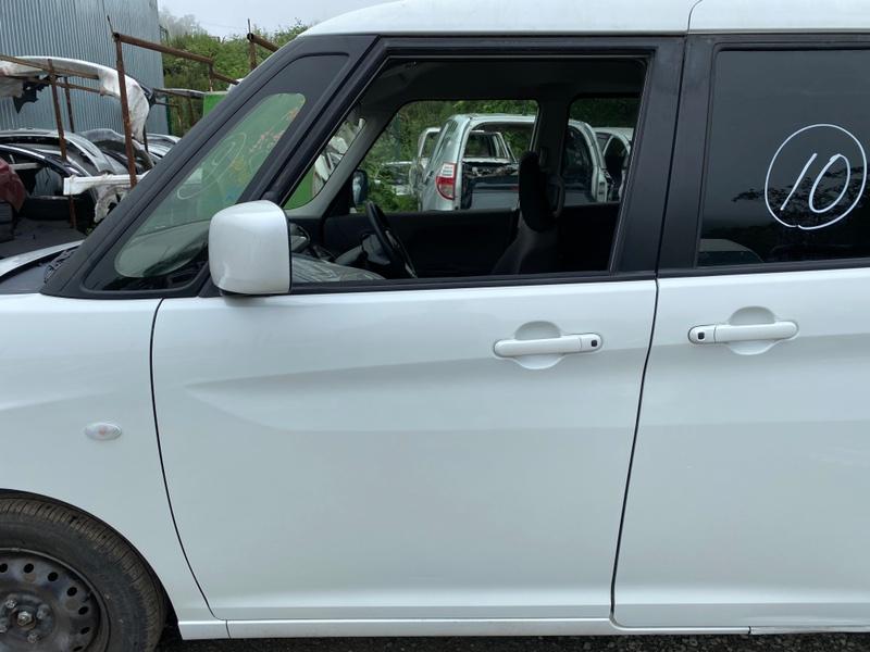 Дверь Suzuki Solio MA26S K12C передняя левая (б/у)