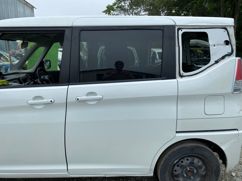 Дверь Suzuki Solio MA26S K12C задняя левая (б/у)