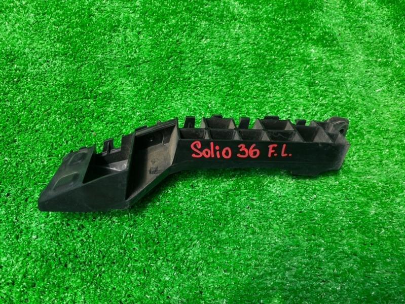 Крепление бампера Suzuki Solio MA36S K12C переднее левое (б/у)
