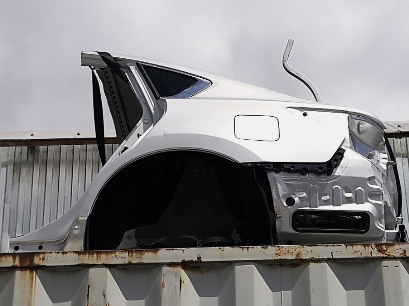 Крыло Nissan Teana L33 QR25DE заднее левое (б/у)