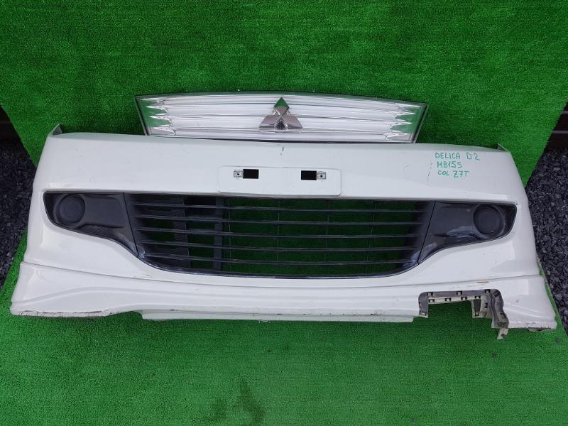 Бампер Mitsubishi Delica D:2 MB15S K12B 2012 передний (б/у)