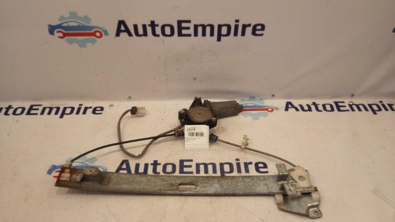 Стеклоподъемник Mitsubishi Galant EA3A 4G64 1999 задний правый (б/у)