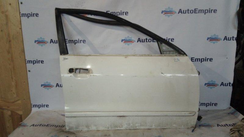 Дверь Mitsubishi Galant EA1A 4G64GDI 1996 передняя правая (б/у)