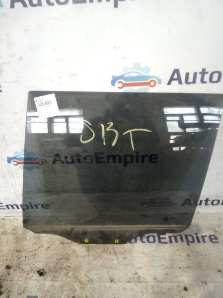 Стекло двери Mitsubishi Galant EA1W 4G64GDI 1996 заднее левое (б/у)
