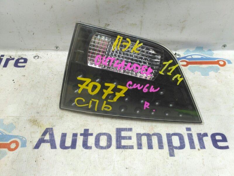 Фонарь задний Mitsubishi Outlander Xl CW5W 4B12 2008 задний правый (б/у)