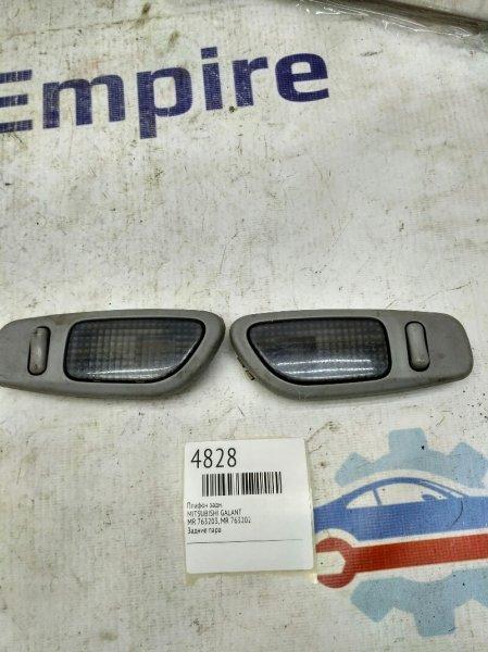 Плафон освещения салона Mitsubishi Galant EA1A 4G64GDI 1996 задний (б/у)