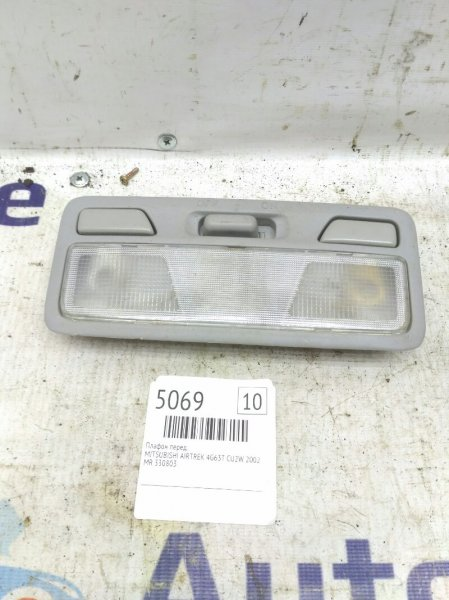 Плафон освещения салона Mitsubishi Airtrek CU2W 4G63T 2002 передний (б/у)