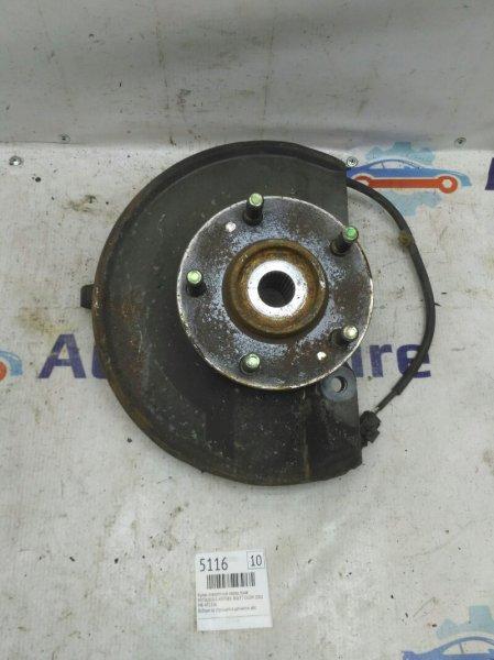 Кулак передний Mitsubishi Airtrek CU2W 4G63T 2002 передний правый (б/у)