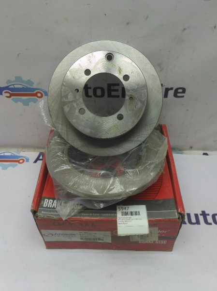 Тормозной диск задний Mitsubishi Galant EA1A 4G64GDI 1996 задний