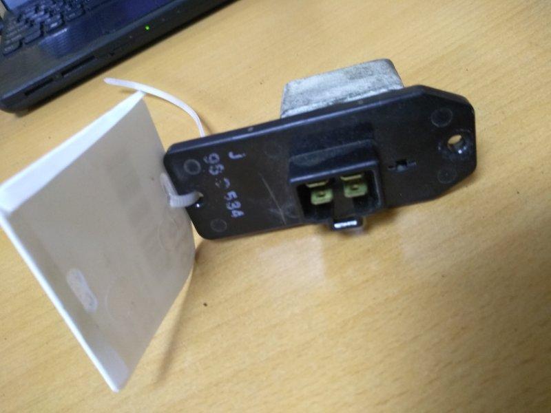Резистор печки Mitsubishi Galant EA3A 4G64 1999 (б/у)