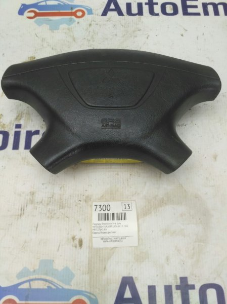 Подушка безопасности в руль Mitsubishi Galant EA5A 6A13 2002 (б/у)