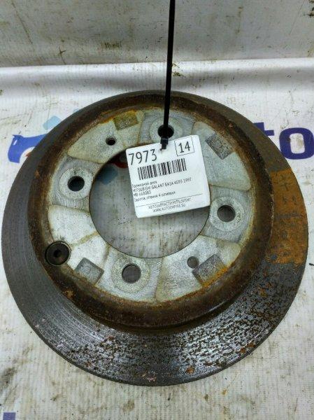 Тормозной диск задний Mitsubishi Galant EA1A 4G93 1997 (б/у)