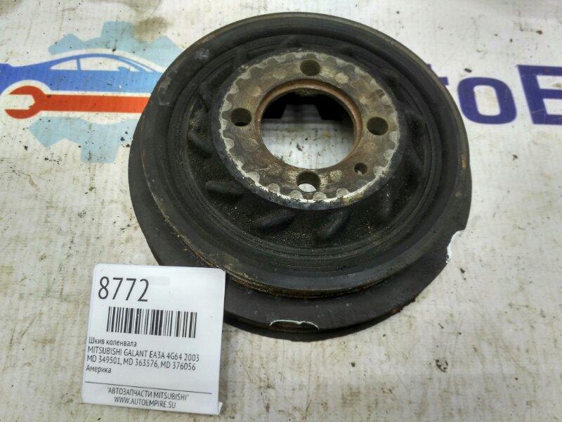 Шкив коленвала Mitsubishi Galant EA3A 4G64 2003 (б/у)
