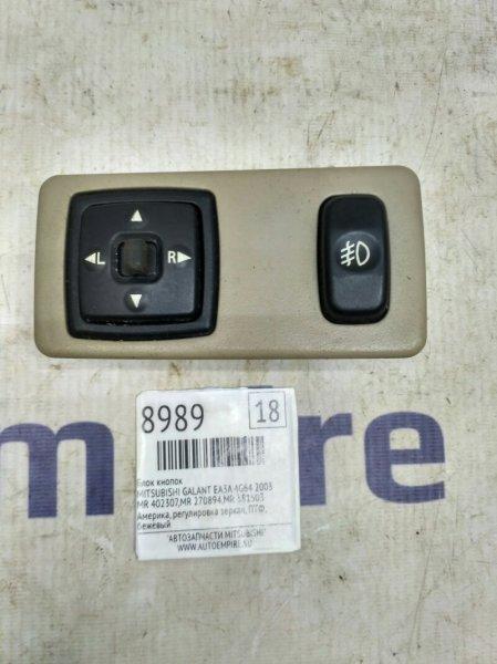 Блок кнопок Mitsubishi Galant EA3A 4G64 2003 (б/у)