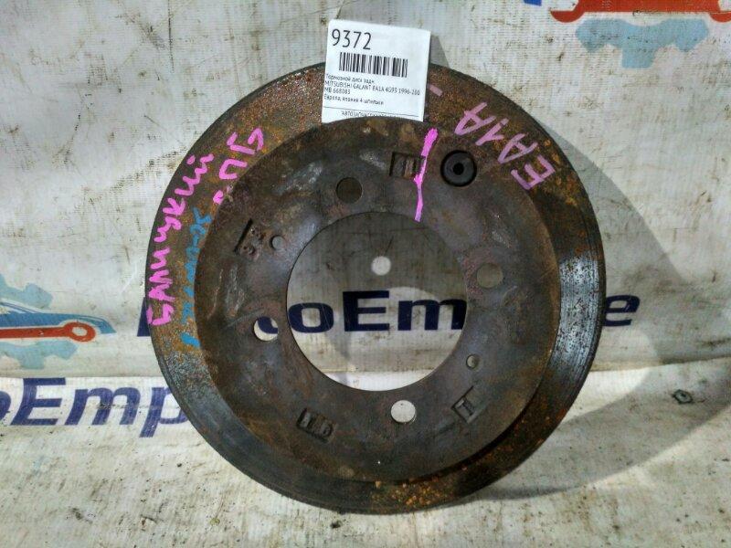 Тормозной диск задний Mitsubishi Galant EA1A 4G93 1996 задний (б/у)