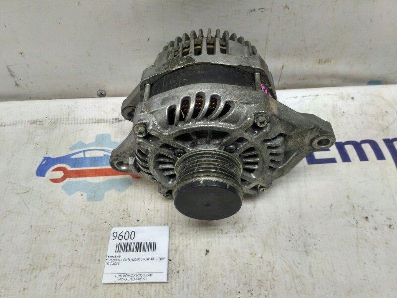 Генератор Mitsubishi Outlander Xl CW5W 4B12 2008 (б/у)