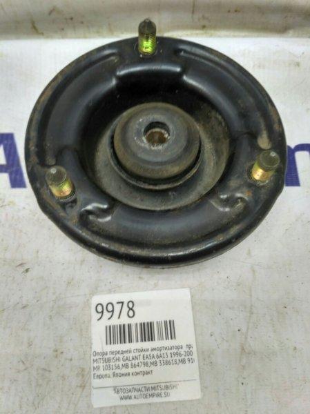 Опора передней стойки амортизатора Mitsubishi Galant EA5A 6A13 1996 правая (б/у)