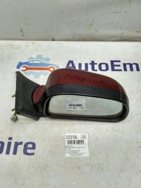 Зеркало (европа) Mitsubishi Galant EA5A 6A13 1998 правое (б/у)