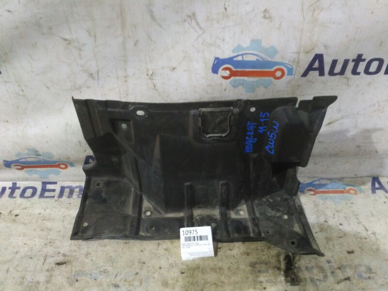 Защита двигателя Mitsubishi Outlander Xl CW5W 4B12 2008 правая (б/у)