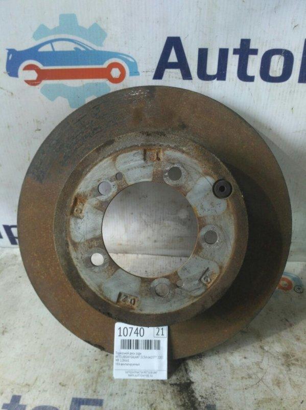 Тормозной диск задний Mitsubishi Galant EC5A 6A13TT 2001 задний (б/у)