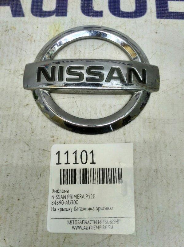 Эмблема Nissan Primera P12E (б/у)