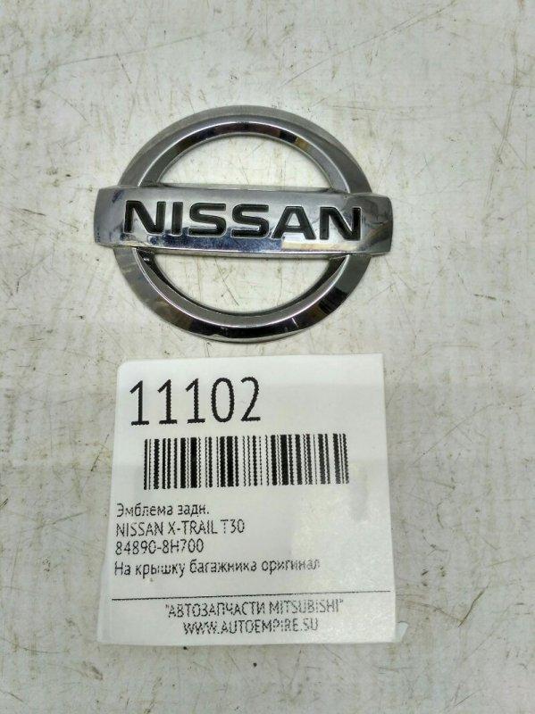 Эмблема Nissan X-Trail T30 задняя (б/у)