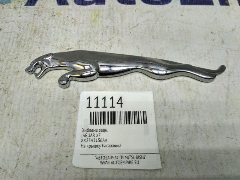 Эмблема Jaguar Xf задняя (б/у)