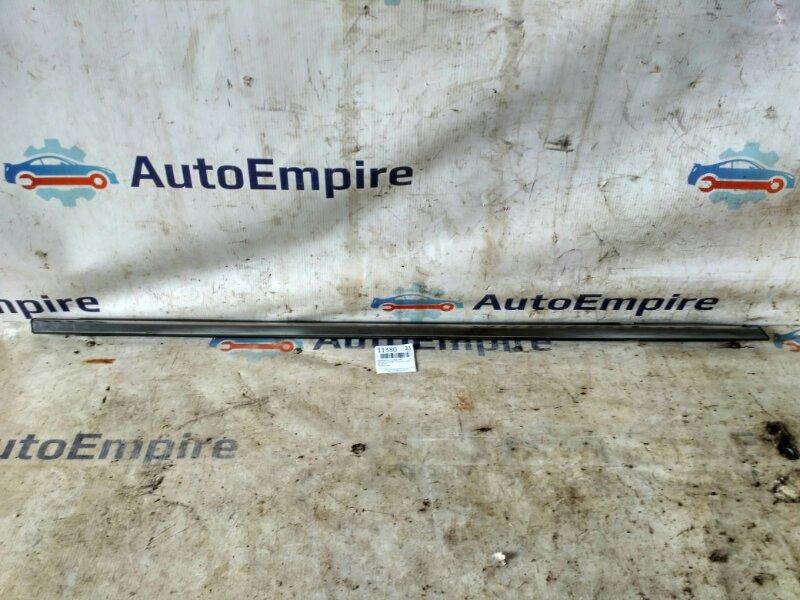 Бархотка стекла Mitsubishi Galant EA3A 4G64 2002 передняя правая (б/у)