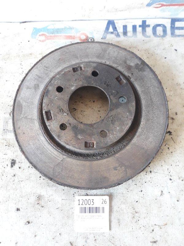 Тормозной диск передний Mitsubishi Lancer CY2A 4A91 2008 передний (б/у)