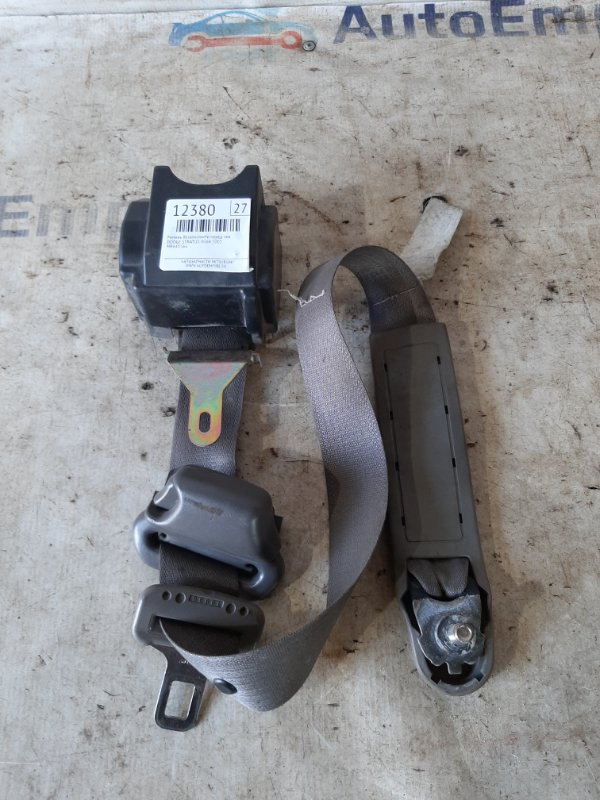 Ремень безопасности Dodge Stratus 4G64 2003 передний левый (б/у)