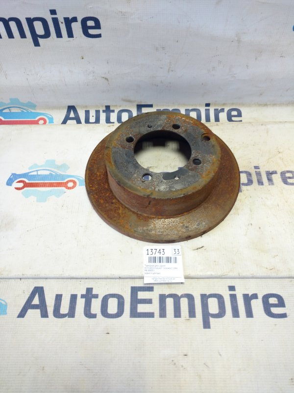 Тормозной диск задний Mitsubishi Galant EA2A 4G63 1999 (б/у)