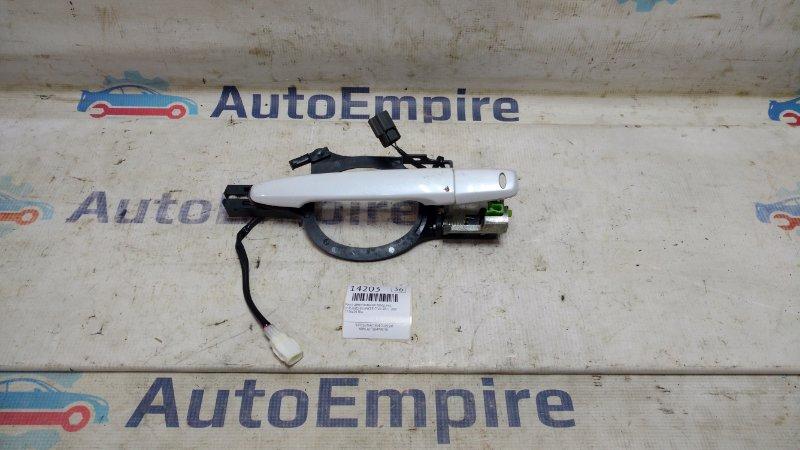 Ручка двери внешняя Mitsubishi Lancer CY4A 4B11 2007 передняя левая (б/у)
