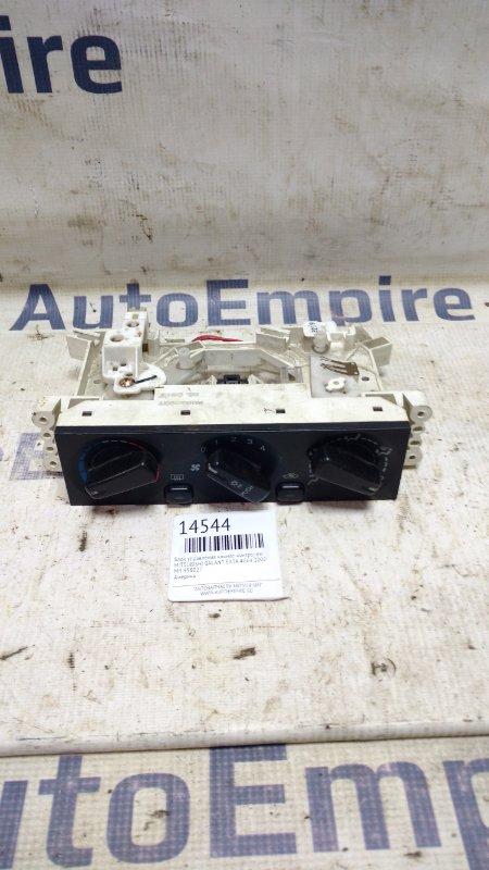 Блок управления климат-контролем Mitsubishi Galant EA3A 4G64 2002 (б/у)