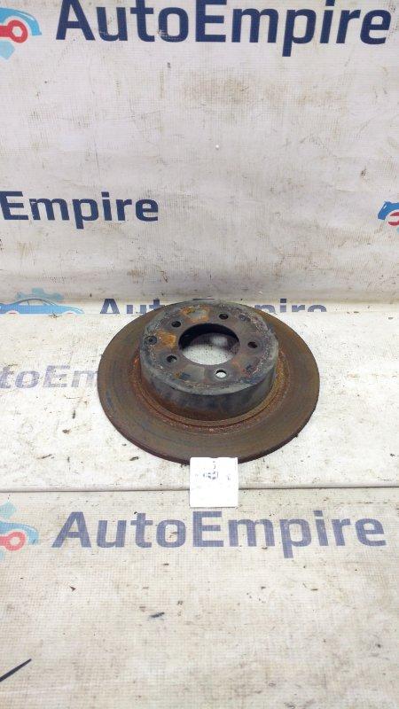 Тормозной диск задний Mitsubishi Lancer CY4A 4B11 2007 задний (б/у)