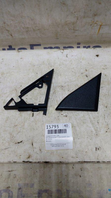 Накладка зеркала Mitsubishi Galant EC3W 4G64GDI 2000 правая (б/у)