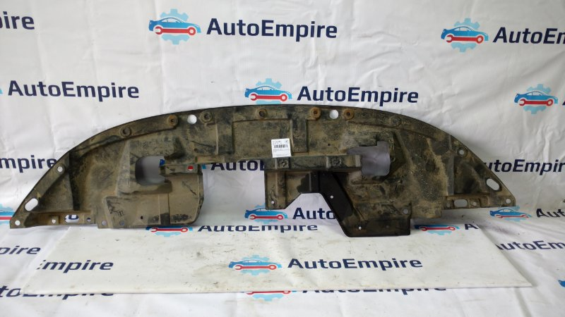 Защита бампера Mitsubishi Outlander Xl CW5W 4B12 2008 передняя (б/у)
