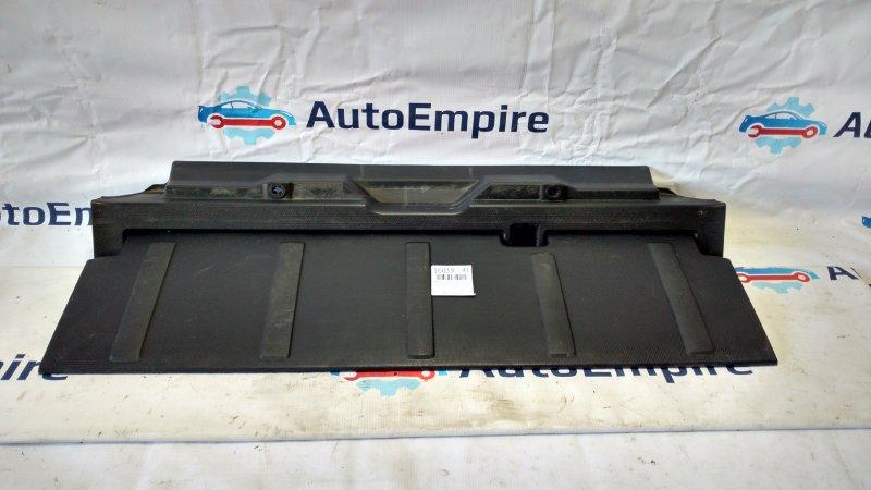 Обшивка крышки багажника Mitsubishi Outlander Xl CW5W 4B12 2008 нижняя (б/у)