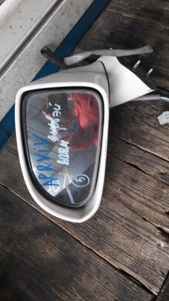 Зеркало Honda Airwave GJ1 2005 переднее левое (б/у)