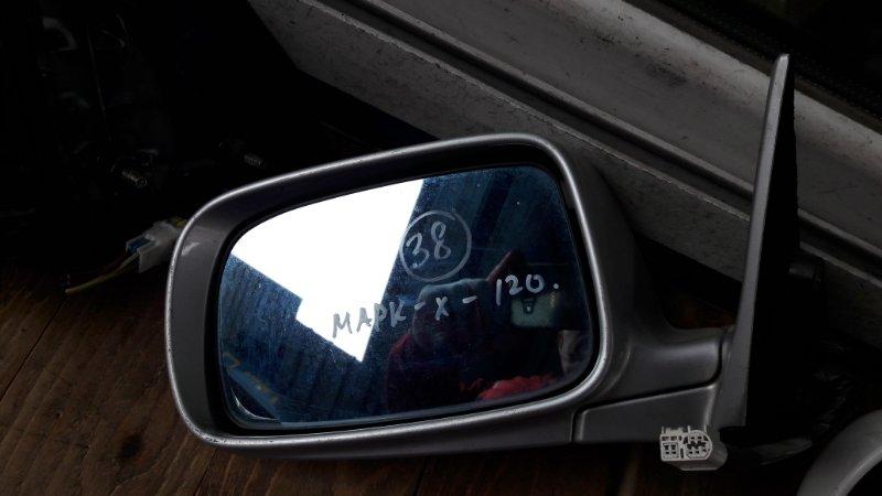 Зеркало Toyota Mark X 120 2004 переднее левое (б/у)