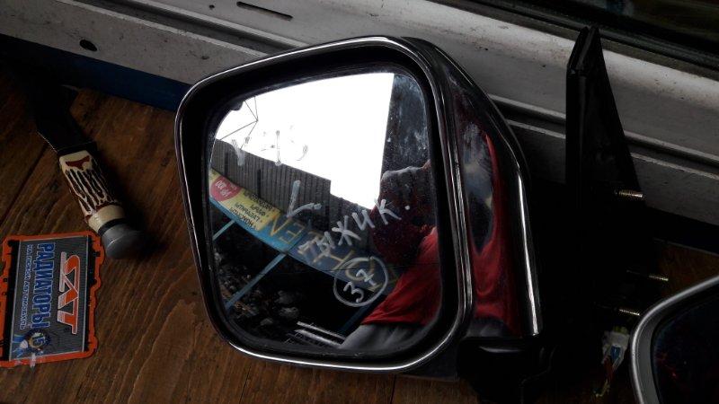 Зеркало Mitsubishi Pajero V21V23V24V25V26V43V45V46 переднее левое (б/у)