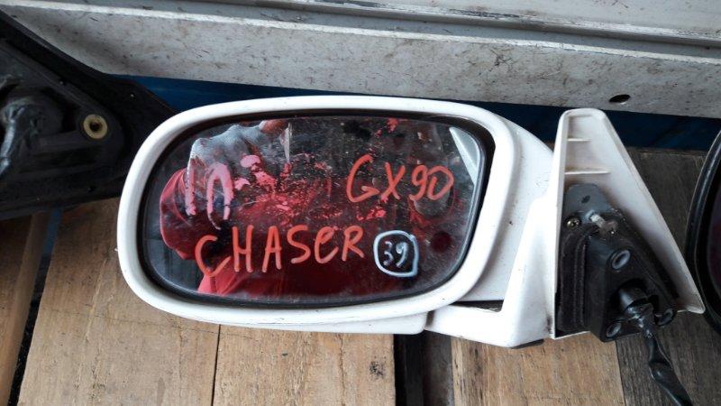 Зеркало Toyota Chaser GX90 1994 переднее левое (б/у)