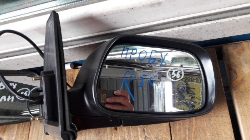 Зеркало Toyota Probox NCP50 2006 переднее правое (б/у)