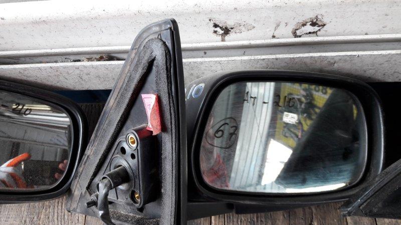 Зеркало Toyota Carina AT210 1998г. переднее правое (б/у)