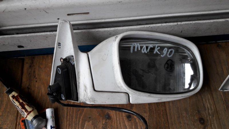 Зеркало Toyota Mark Ii GX90 1993 переднее правое (б/у)