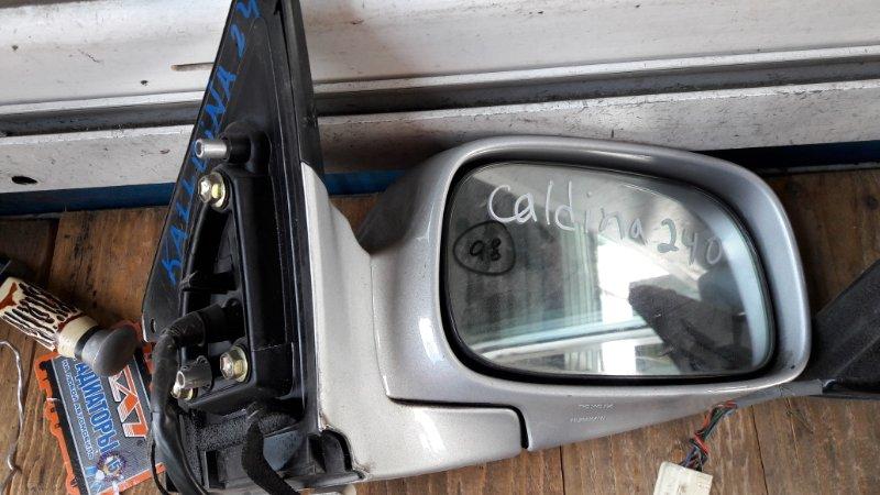 Зеркало Toyota Caldina AZT240 2002 переднее правое (б/у)