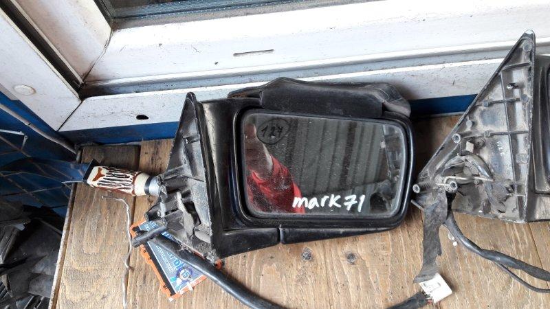 Зеркало Toyota Mark Ii GX71 переднее правое (б/у)