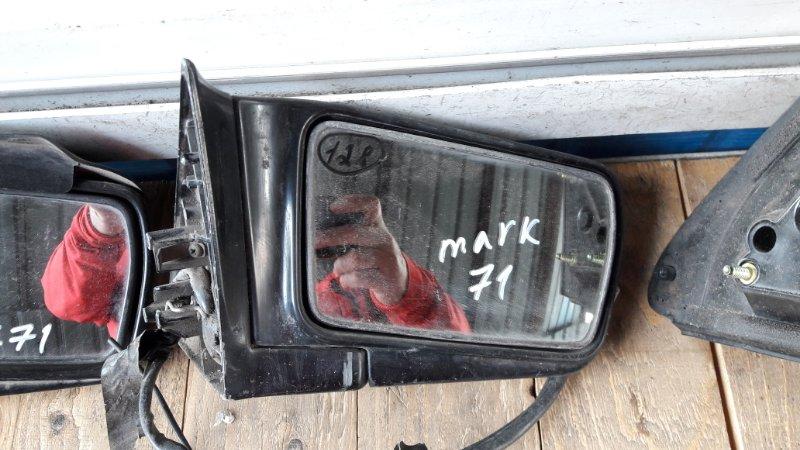Зеркало Toyota Mark Ii GX70 1984 переднее правое (б/у)