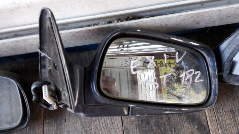 Зеркало Toyota Corona Exiv 180 1989 переднее правое (б/у)