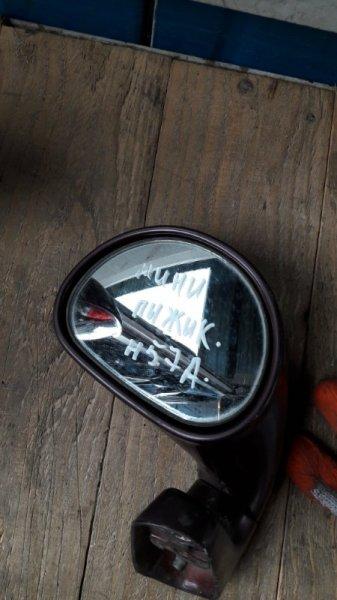 Зеркало парковачное на крыло Mitsubishi Pajero Junior H57A (б/у)